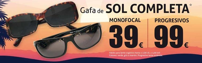 Oferta gafas de sol verano